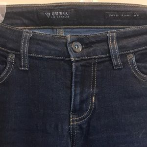 Guess Power Skinny Low Rose sz 28
